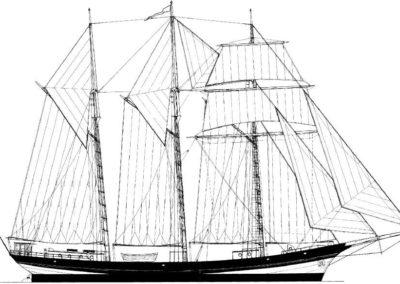 164' 2017 Cargo Schooner | US $5,871,690