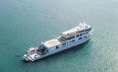 208' 1978 SuRi Halter Marine | US $43,900,000 (Aerial Starboard Stern)
