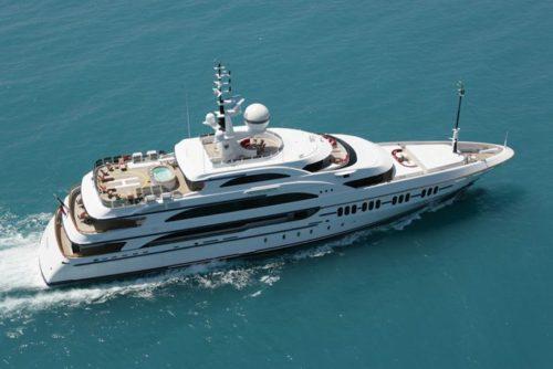 213' 2006 Benetti Ambrosia | $50,000,000 - Exterior Aerial Starboard