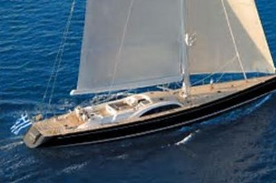 Sailing superyacht advanced design.