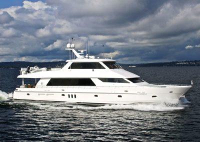 "101' 2010 Hargrave Custom Yachts ""Sky Lounge 101"" | US $4,775,500"