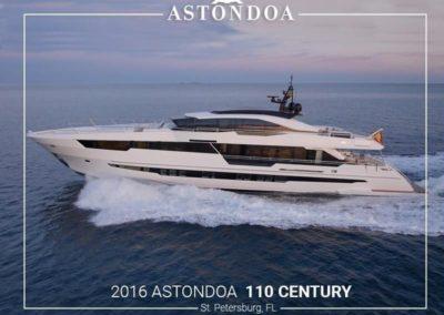 110' 2016 Astonda 110 Century | US $10,000,250