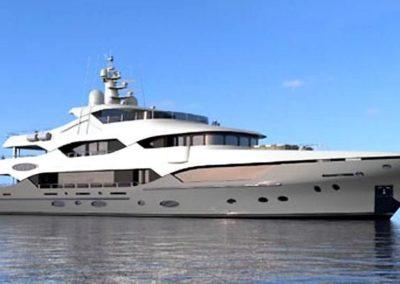 164' 2017 Christensen Custom 50M Series Skylounge Motoryacht | US $35,000,000