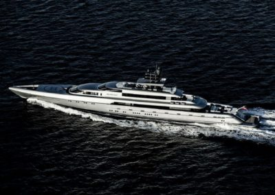 252' 2015 Silver Yachts 77m | US $94,366,500